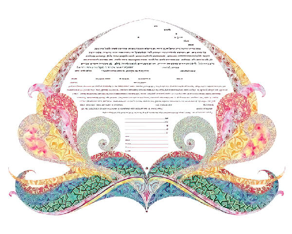 Ketubah by Amy Fagin,Everlasting