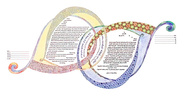 Ketubah by Amy Fagin,Adagio
