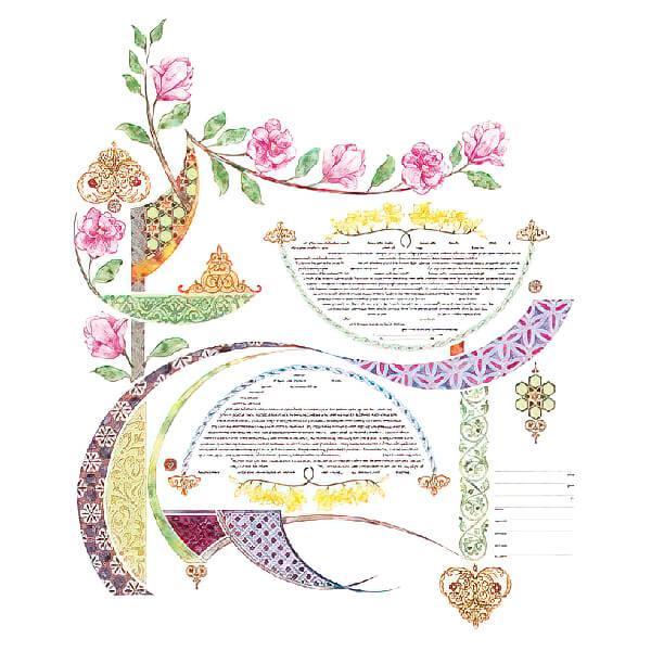Ketubah by Amy Fagin,Pure Joy