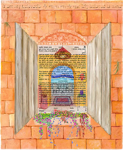 Ketubah by Cindy Michael,The Villa