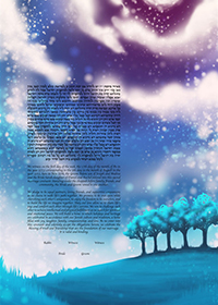 Ketubah by  Tinak,Bright Lights