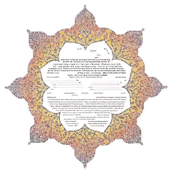 Ketubah by Amy Fagin,Guiding Star