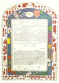Ketubah by Debra Band,Loving Home