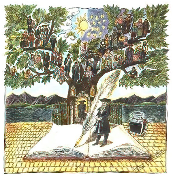 Ketubah by Ilene Winn Lederer,Tree of Memories
